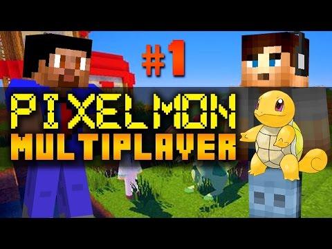 Minecraft Mods PIXELMON MULTIPLAYER - PIXELTOWN #1 with Vikkstar & Ali A (Minecraft Pokemon Mod)