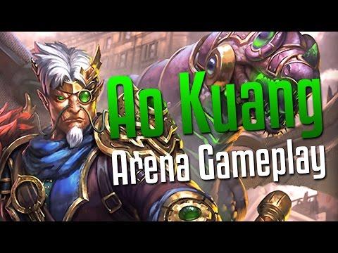 Smite: THAT DAMAGE!- Ao Kuang Arena Gameplay