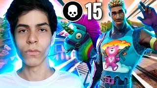 JOGUEI SOLO DUO E MATEI TODO MUNDO - Fortnite ( Battle Royale )