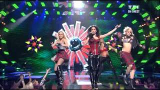 Pussycat Dolls - When I Grow Up Live  At    Nrj French Music Awards