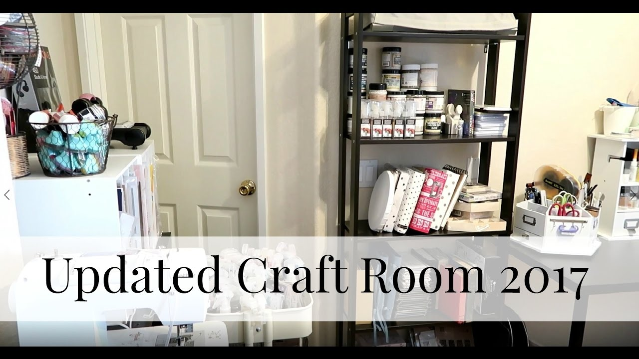 New Craft Room Small Craft Room Ideas Youtube