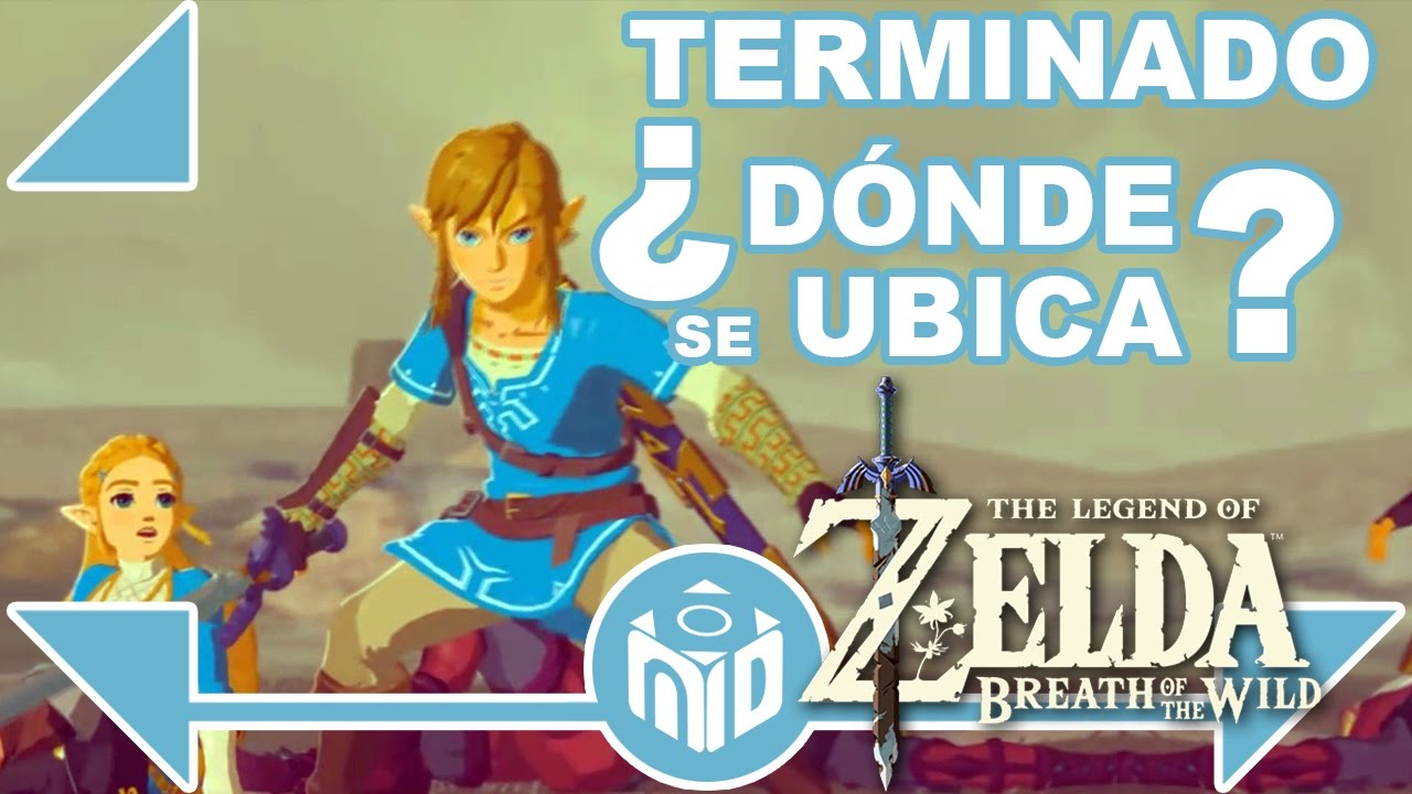 Terminado Cronologia Zelda Breath Of The Wild Ndeluxe Youtube