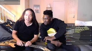 [DragonForce] Herman Li & [Animals As Leaders] Tosin Abasi - Twitch Livestream (2019-02-13)