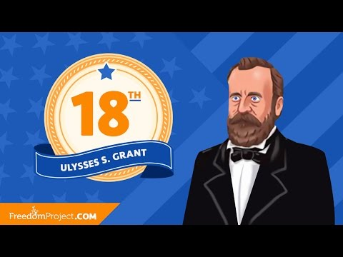 Presidential Minute With Ulysses S. Grant