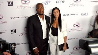 Nicole Williams and Larry English 2017 Summer Spectacular Under the Stars Black Carpet