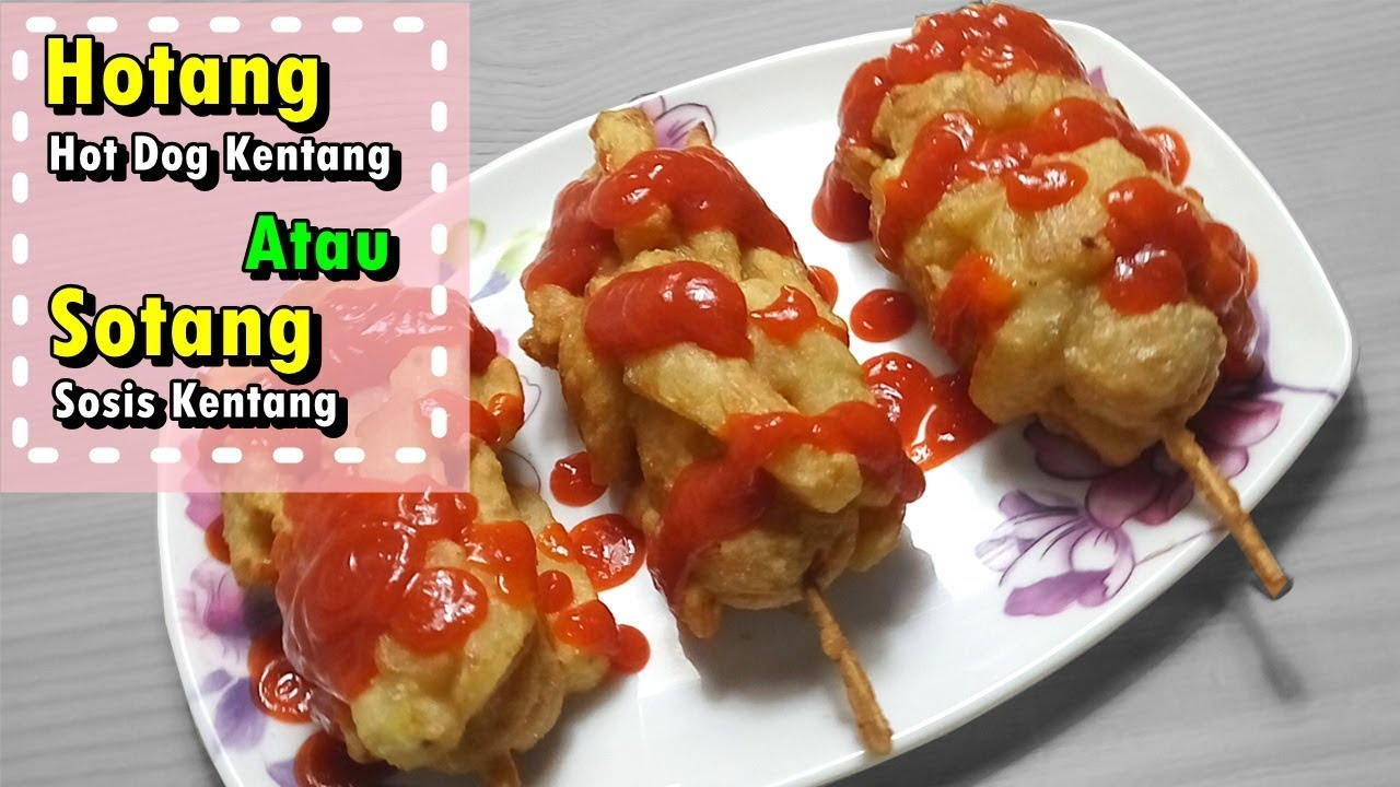 How To Make Hot Dog Potato Or Sotang Potato Sausage Easy Recipe
