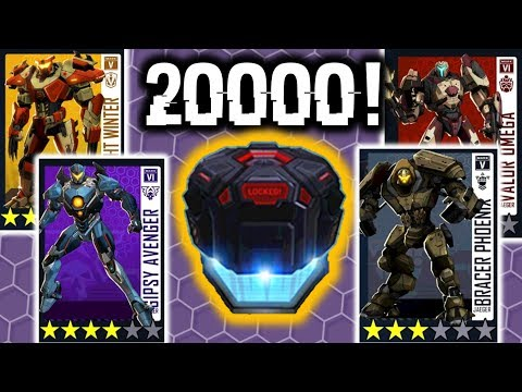 Opening 20,000 Factory Vouchers!!!!! | Pacific Rim Breach Wars