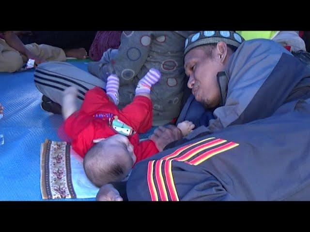 Sulawesi earthquake: Rescuers scramble to find survivors