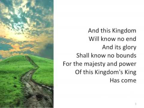 This Kingdom ~ Geoff Bullock ~ Lyric Video