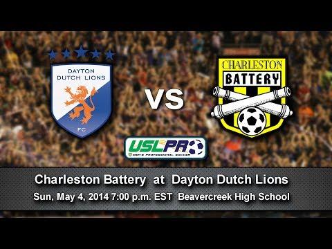 Dayton Dutch Lions vs Charleston Battery