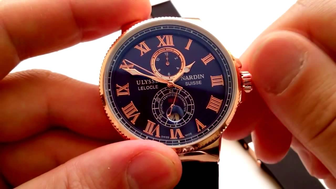 6fa9fcd0f81a Ulysse Nardin Marine Chronometer (Механика) Обзор модели - YouTube