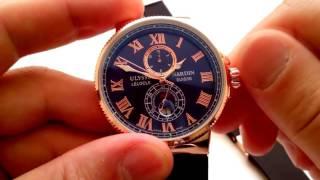 Ulysse Nardin Marine Chronometer (Механика) Обзор модели(Мужские часы Ulysse Nardin. Хит по продажам. Особенно хорошо сочитаються с морской тематикой. Подойдут для мужчин..., 2015-11-23T10:42:54.000Z)