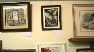 Вышивка крестом, крестиком Выставка Рига 2013 / DINA stitch