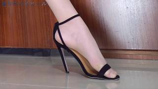 Black high heels, for your summer extra choice