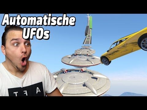 UFOs in einer AUTOMATIC MAP (GTA 5 Online)