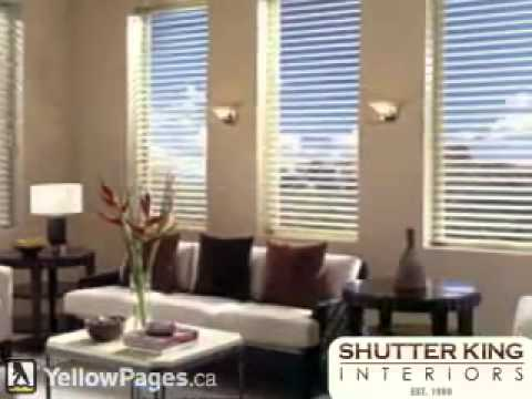 Shutter King Toronto - window covering, Blinds, Curtains and Blinds