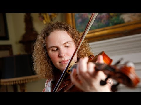 How this professional blind violist from Plano memorizes music
