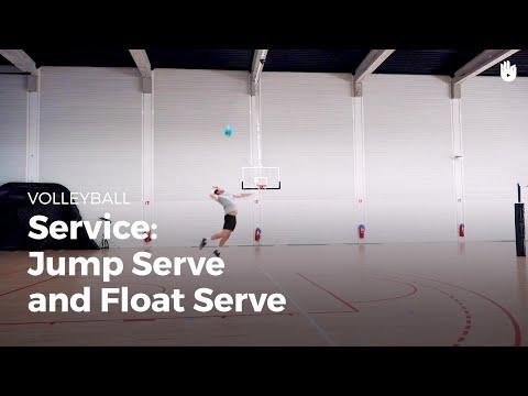 Service: jump serve