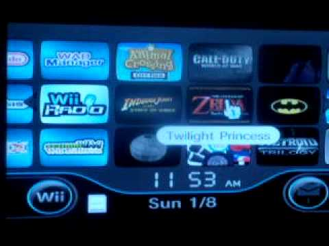"""Wii """"Backup"""" Game Channels"""