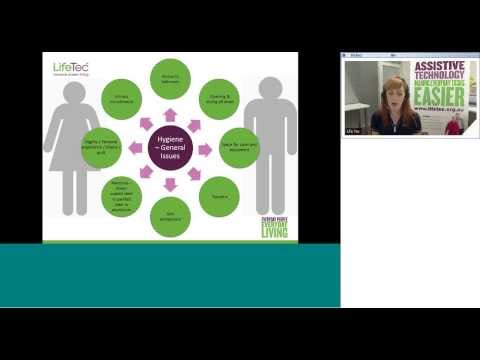 """""""Assistive Technology for the Bariatric population"""" - LifeTec Health Professional Katie-anne Grice"""