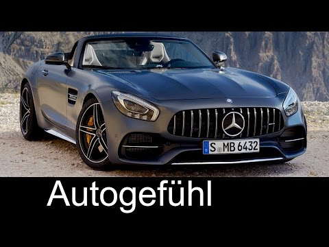 New Mercedes-AMG GT Roadster & GT C Roadster Sound/Exterior/Interior Preview Neu