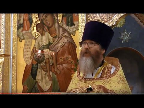 2017.10.08. The Miraculous Catch of Fish. Sermon by Archpriest Martin Person