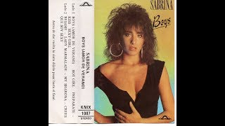 SABRINA - BOYS (AMOR DE VERANO) 1988 - CASSETTE FULL ALBUM