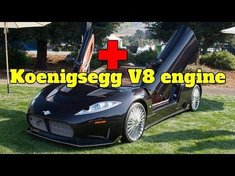 2018 Spyker C8 Preliator to run Koenigsegg V8 engine - Broom Car