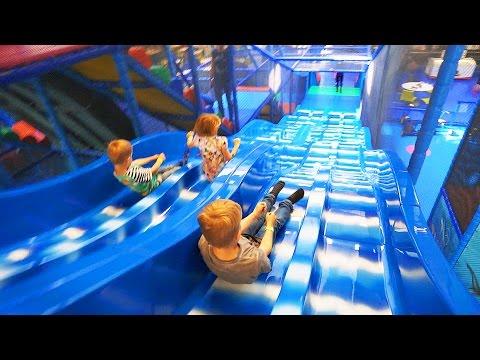 Indoor Playground Fun for Family and Kids at Kalle's Lek & Lattjo