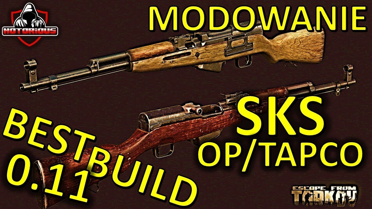 Modowanie SKS / OP SKS / TAPCO - Best Build 0 11 - Modding Guide - Escape  from Tarkov Poradnik #16