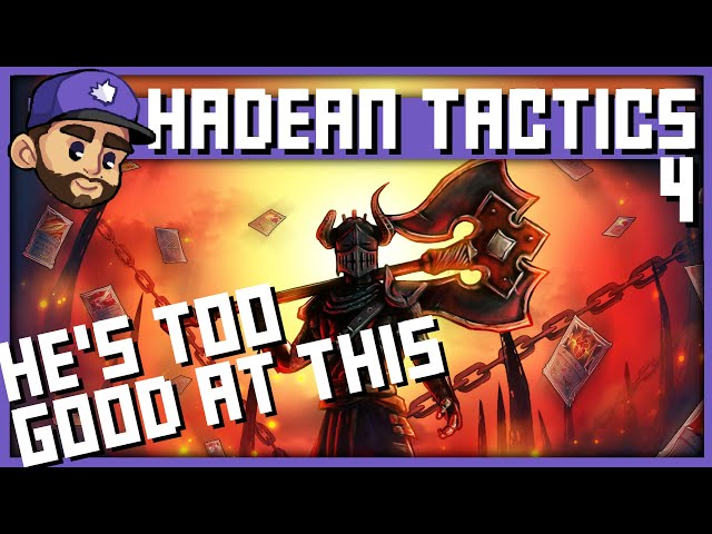 HE'S TOO GOOD AT THE GAME | HADEAN TACTICS Playthrough | Ep4
