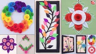 10 Genius Paper Craft Idea !!! Diy Room Decor !!! Wall Hanging