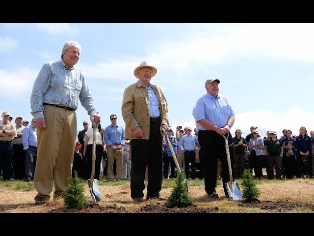 1 Billionth Tree Planted A National