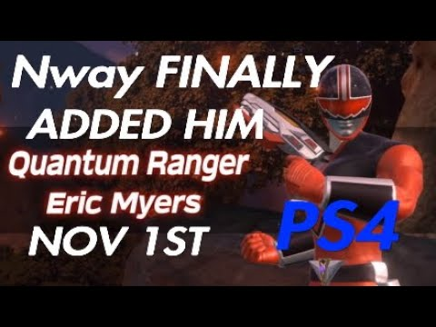 Power Rangers BFTG Eric Myers Finally For Download On PS4