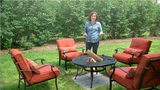 Learn & Do Making A Base For Your Fire Pit - Martha Stewart
