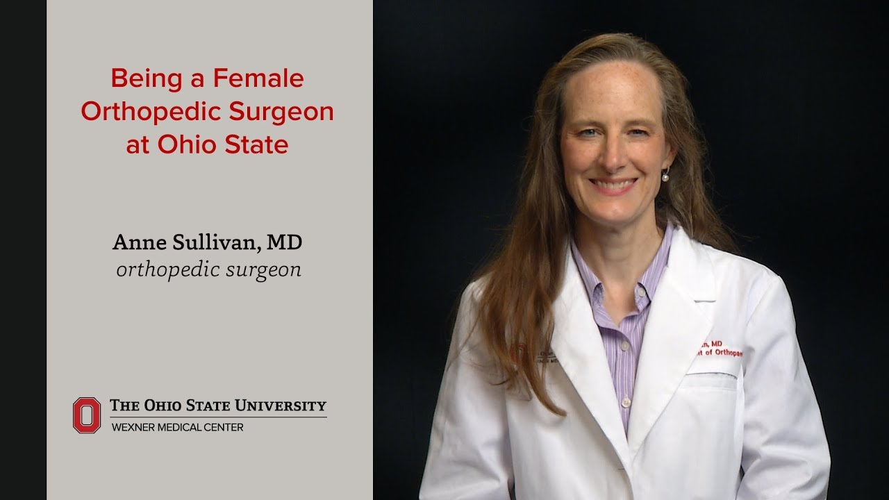 Being a Female Orthopedic Surgeon at Ohio State  Ohio State Medical Center #Orthopedicsurgery