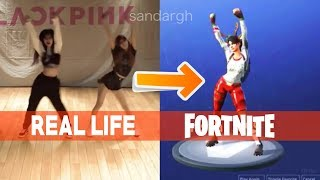 "Fortnite's New Dance ""True Heart"" In Real Life (Original Dances)"