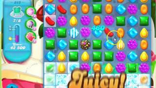 Candy Crush Soda Saga Level 815 - no boosters