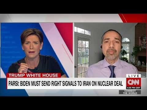 CNN: Trita Parsi on reports Trump sought military options against Iran