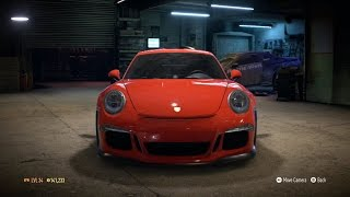 Need For Speed 2015 - Porsche 911 GT3 RS 991 2015 - Test Drive Gameplay (XboxONE HD) [1080p60FPS]