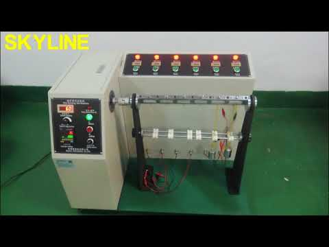 UL 87 Lab Testing Equipment/ Bending Angle 10-180° Adjustable UL 87 Wire Bending Test Machine