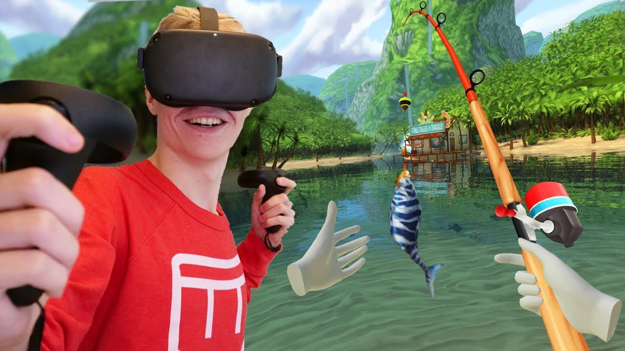 Download Go Fishing with the Oculus Quest in Bait!