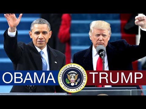 Barack Obama vs Donald Trump: The First 100 Days