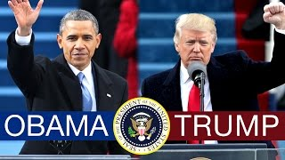 TRUMP VS. OBAMA: The First 100 Days