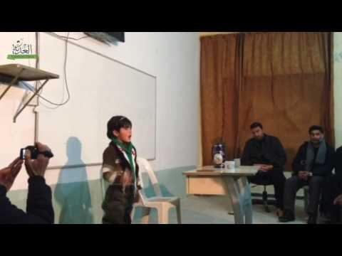 أمسية شعرية في ذكرى الثورة في كفر سجنة