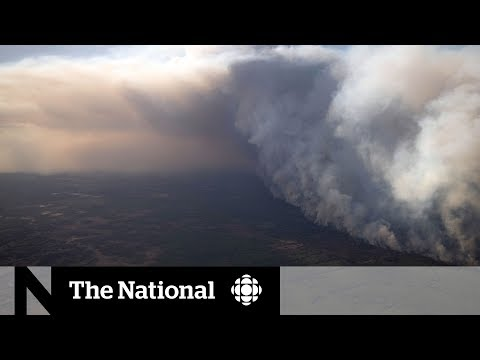 Inside the town forced to flee Alberta's out-of-control wildfire