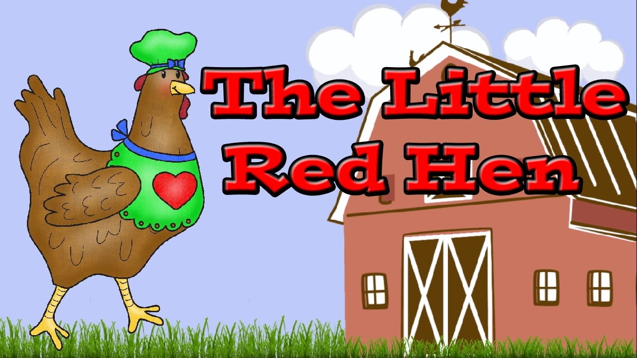 Little Red Hen Cake