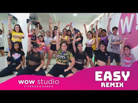 EASY (remix) - Jhay Cortez, Ozuna   Coreografía Wow!