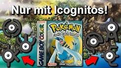 Kann man Pokemon Gold/Silber NUR mit ICOGNITOS durchspielen? (+ Keine Items in Kämpfen)