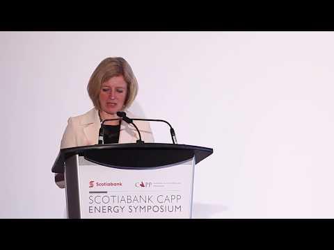 Premier Notley: CAPP Energy Symposium- April 11, 2018